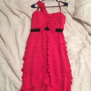 BCBG red/pink dress